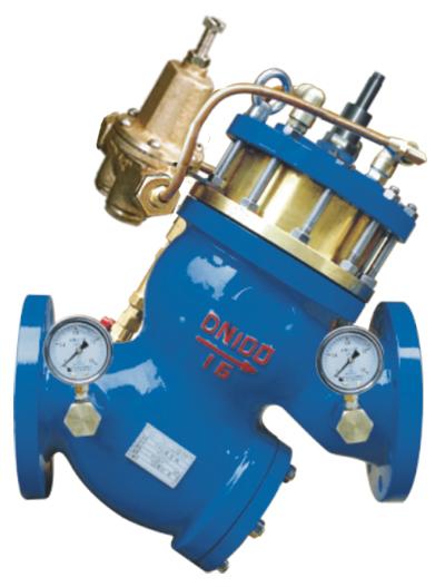 YQ980011过滤活塞式流量控制阀