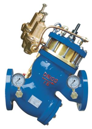 YQ980012过滤活塞式可调减压流量控制阀